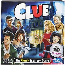 Hasbro Clue Board Game - The Classic Mystery - $11.29