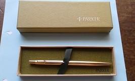 Vintage, Original Box, Never Used Parker 12K GF Cap Barrel Ballpoint Pen - $127.37