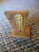 Old Vintage Florida Thermometer Travel Souvenir Wooden Wood Small about ... - $9.99