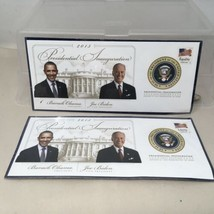 Lot Of 2 USPS 2013 Presidential Inauguration Limited Edition Sealed Cachet - $18.99