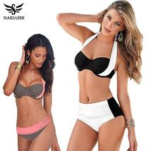 Women Swimwear Bikini Push Up Swimsuit Bathing Women Padded One Piece Monokini B - $23.76