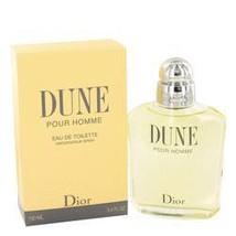 Dune Cologne  By Christian Dior for Men 3.4 oz Eau De Toilette Spray - $94.95