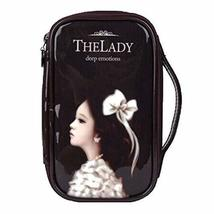 Fashion Waterproof Travel Makeup Case Cosmetic Bag Sundry/Toiletry, Coffee Girl