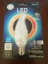 GE 89948 Lighting Dimmable LED Chandelier Bulb 4.5-Watt 40w , FS - $18.69