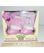 CABBAGE PATCH KIDS SASSY SHOES SET Pink with UNDIES SOCKS HAIR & BOW 200... - $24.75