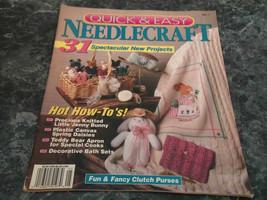 Quick and Easy Needlecraft magazine No 7 Party Purses - $2.99