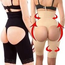 High Waist Butt Lift Bum Lifter Panty Boy Shorts Booty Shaper Lace Trim Enhancer - $8.78+