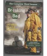 Breaking Bad Season 3 DVD Aaron Paul, Bryan Cranston Complete Third Season - $19.95
