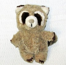 "8"" DAKIN RACCOON Bean Bags 1982 Plush Stuffed Animal NUTSHELL Toy Felted... - $14.85"