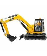 Bruder CAT mini excavator (with figures) BR02466 - $110.95