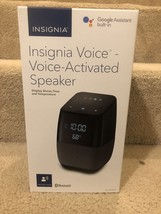 New Insignia- Bluetooth Speaker with Google Assistant built-in and Digit... - $59.40