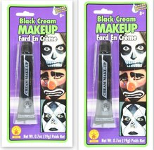 Rubie's Costume Co Color Cream Makeup- Black Costume Halloween 2-Pack - $9.85