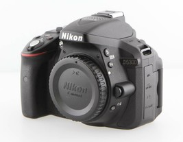 Nikon D D5300 24.2MP DSLR Digital Camera - Black Body only  image 2