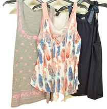 Top of 3 sleeveless tops SZ L - $7.99