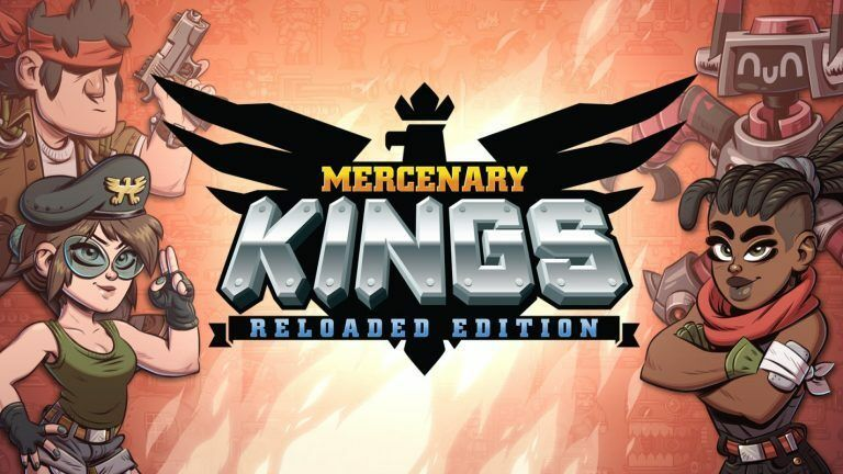 Primary image for Mercenary Kings Reloaded PC Steam Key NEW Download Game Fast Region Free