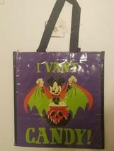 I Vant Candy Mickey Mouse Reusable Shopping Bag Disneyland 2018 - $12.99