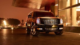 2015 Cadillac Escalade at night 24x36 inch poster or 8x10 photo - $20.99