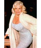 JAYNE MANSFIELD SEXY COLOR POSTER CANDID RARE - $29.00