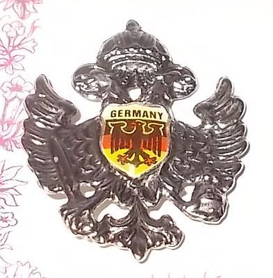 Primary image for German Double Eagle Souvenir Hat or Lapel Pin West Germany