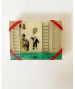 0/028 Scale Train Figures, Firemen Rescue Pack, Kramer Gift Set #33 - $39.59