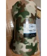Mainstays Camo Fleece Blanket - $9.50