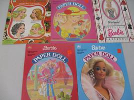 Barbie Paper Doll Lot Vintage Skipper Kelley Francie Peck Gandre activit... - $125.33
