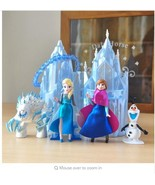 Disney Princess Toys 6pcs/Lot 6-16cm Figures Frozen Anna Elsa Olaf And C... - $18.00