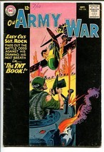 OUR ARMY AT WAR #134-SGT. ROCK-COOL ISSUE VG - $31.53