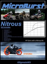 MicroBurst Suzuki GSF 250 Bandit NOS Nitrous Oxide Kit & Boost Bottle - $55.63