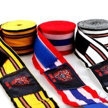 Quality Elastic Cotton Handwrap Kickboxing-Muay thai-Boxing Bandage - $18.50+