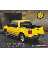 2002 Ford EXPLORER SPORT TRAC PIONEER Edition brochure catalog sheet US 02 - $8.00
