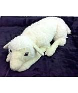 "Ditz Designs White Sheep Lamb Laying Plush Realistic Large Floppy 22"" - $96.60"