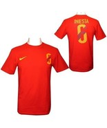 Andreas Iniesta Nike Hero t-shirt NWT World Cup Spain new with tags soccer - $27.74