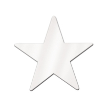 "Beistle Party Decoration Foil Star Cutout 9"" White - 36 Pack - $35.79"