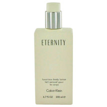 ETERNITY by Calvin Klein Body Lotion (unboxed) 6.7 oz (Women) - $45.88