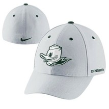 Nike Oregon Ducks Mascot UO White Dri-FIT Swoosh Flex Hat - $19.79