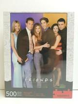 Friends TV Series 500 Pc Puzzle Aniston Cox Perry Kudrow Schwimmer LeBla... - $25.73
