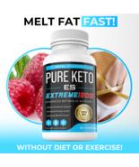 Keto ES Pills Apple Cider Vinegar Powder Advanced Weight Loss BHB Ketone... - $34.18