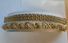 Avon Lot of 2 Vintage Gold-tone Chain Link Bracelets  - $35.64