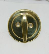 Better Home Products 10803PB One Sided Deadbolt Polished Brass image 3