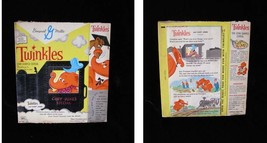 General Mills Twinkles Cereal Box 1960s Twinkles and Casey Jones - $54.99