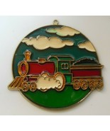Enamel /Metal Choo-Choo Train Sun Catcher  - $13.85