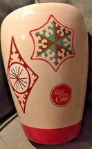 Things Go Better With Coke Vintage Christmas Ornament Cookie Jar Item #4... - $20.78