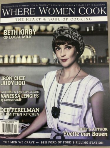 Where Women Cook Vintage Magazine Winter 2015 Cooking Nutrition Homemade Family