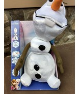 2013 first edition Walt Disney Frozen pull apart talking snowman Olaf do... - $29.95
