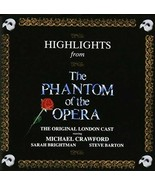 Andrew Lloyd Webber - Phantom of the Opera: Highlights cd - $18.80