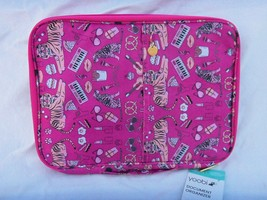 YOOBI DOCUMENT ORGANIZER IN PINK WITH TIGER , GUITAR  AND OTHER PICTURE ... - $12.82