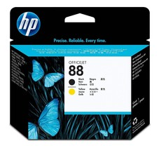 HP 88 Black and Yellow Original Printhead (C9381A) Yield 41,500 - $115.78