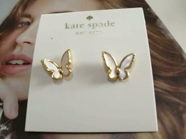 Kate Spade New York® All A Flutter Mother Of Pearl Stud Earrings - $24.74
