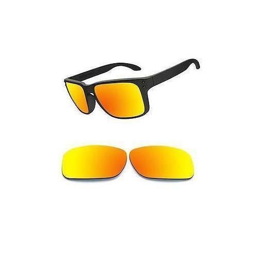 Optico Polarized Replacement Lenses for Oakley Holbrook Sunglasses Red